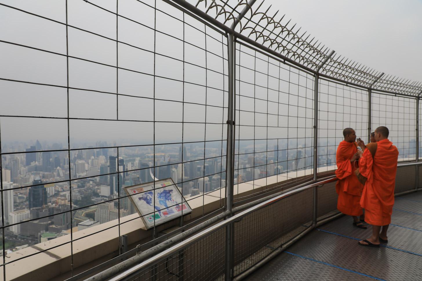 Uitzicht vanaf Baiyoke 2 Tower