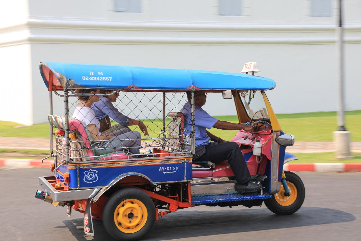 Ritje met een tuktuk