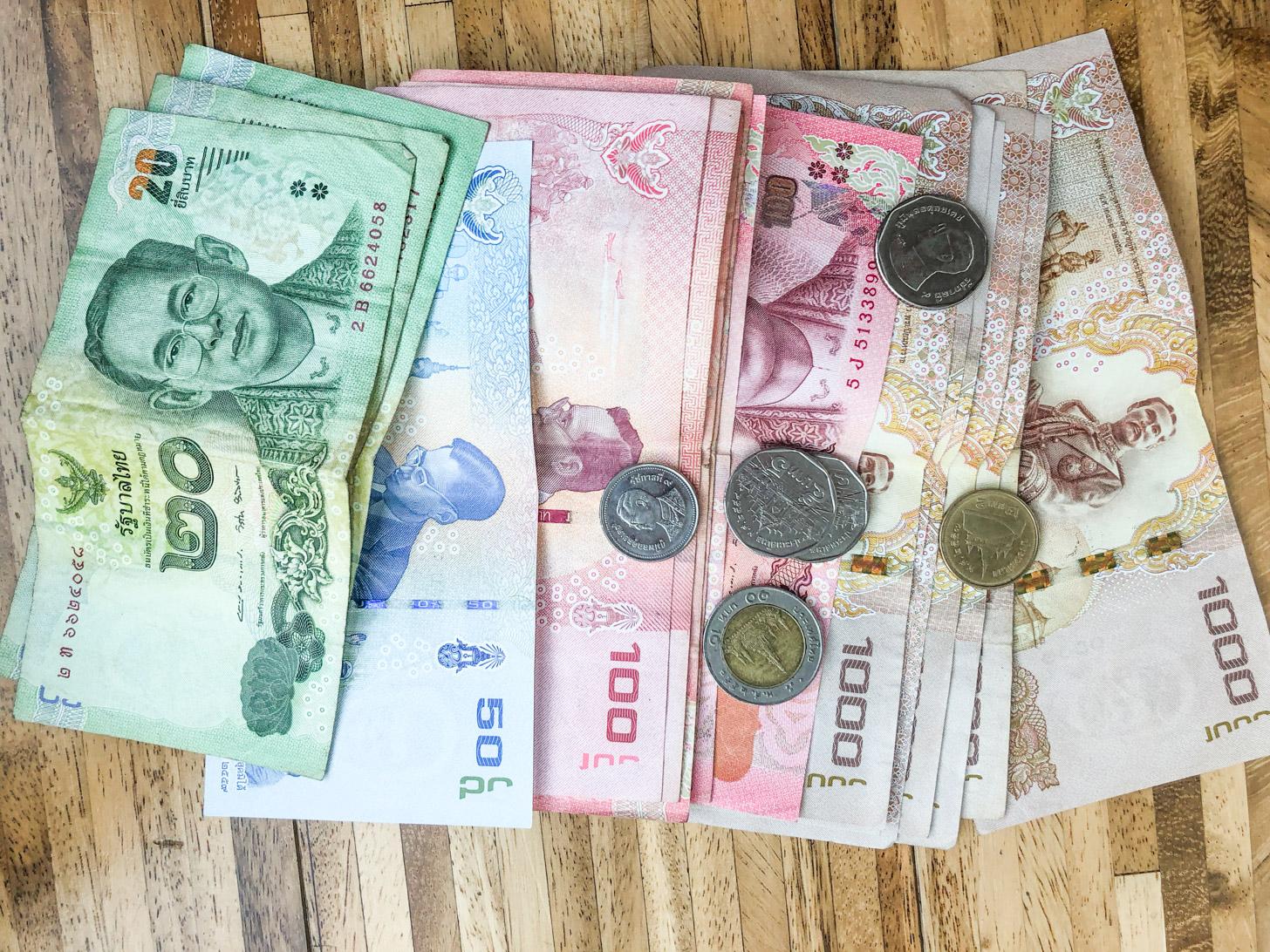 Geld in Bangkok